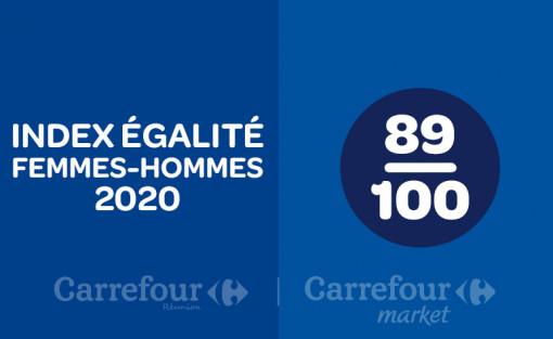 INDEX DE L'ÉGALITÉ PROFESSIONNEL 2020