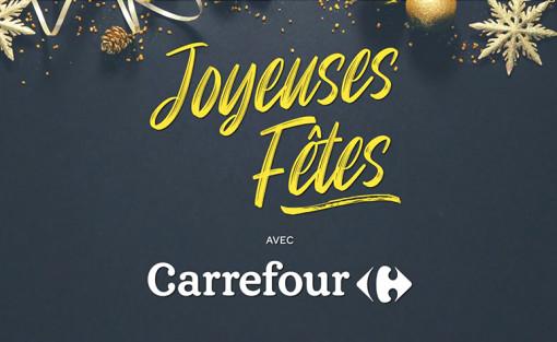 JOYEUSES FÊTES AVEC CARREFOUR