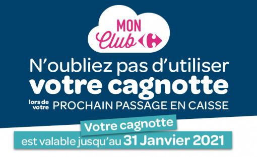 VOTRE CAGNOTTE MON CLUB